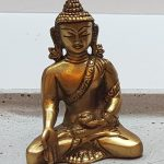 Buddha Statue Messing opal18